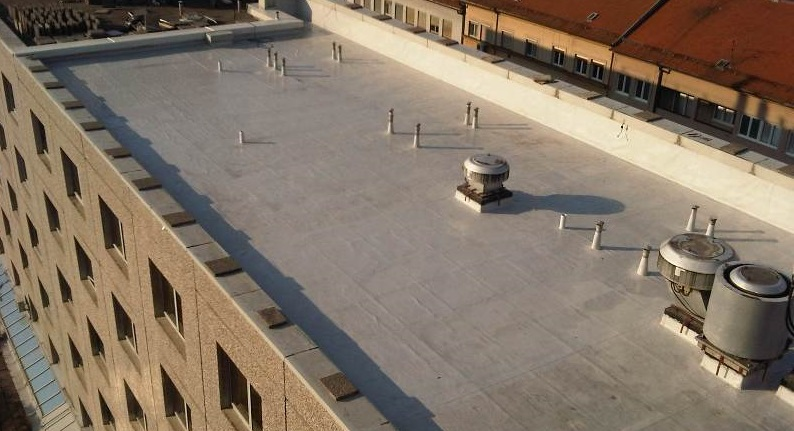Waterproofing of the flat roof  – Hotel Sheraton Zagreb