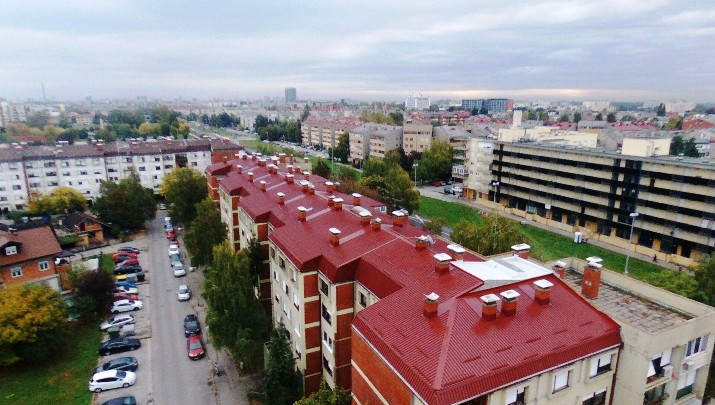 Roof cover replacement of the apartment building – Vlahe Stulića, Zagreb